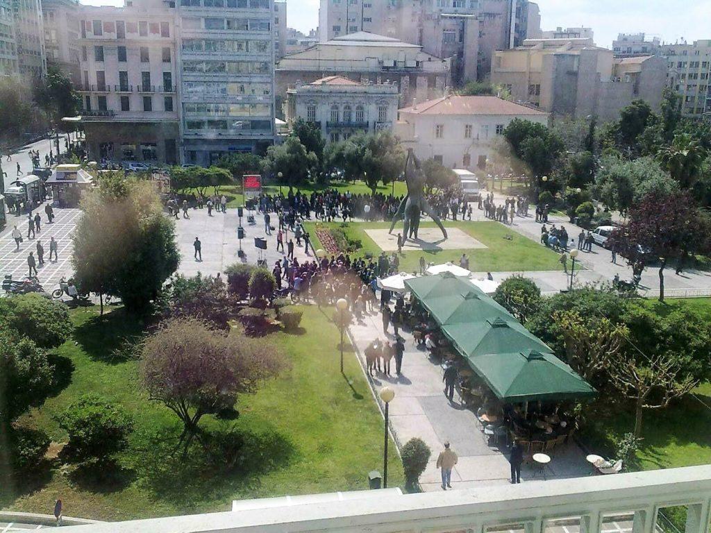 Πλατεία Κλαυθμώνος στην Αθήνα