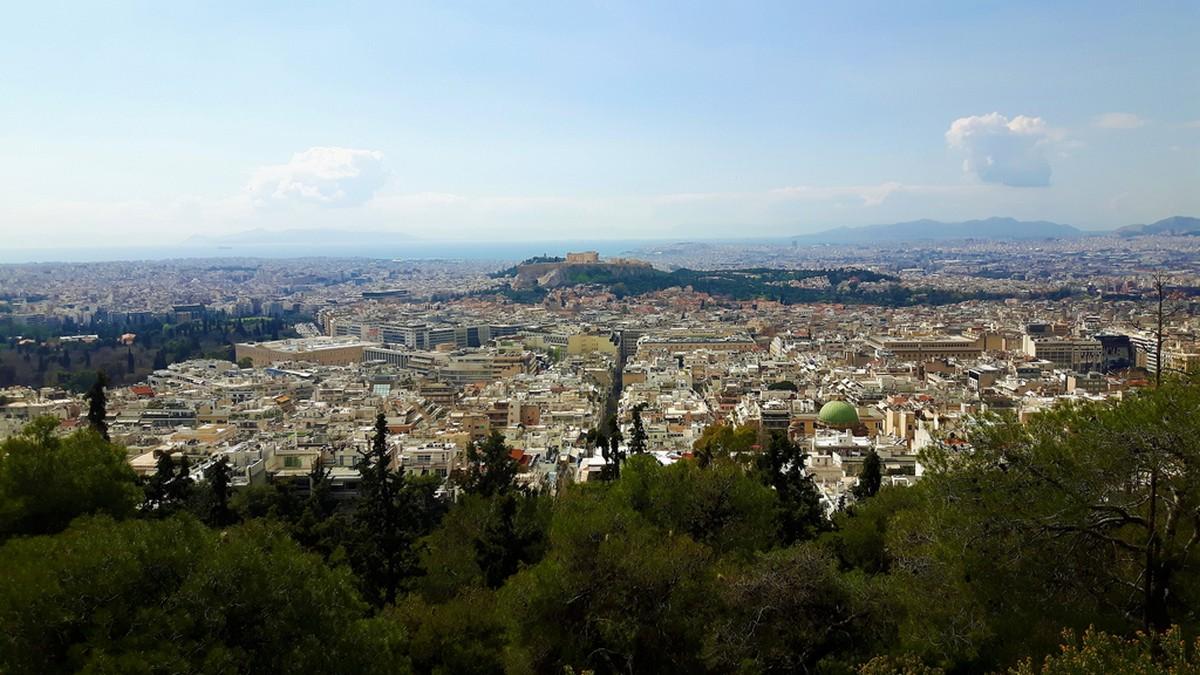 Η Αθήνα από το Λυκαβηττό 01