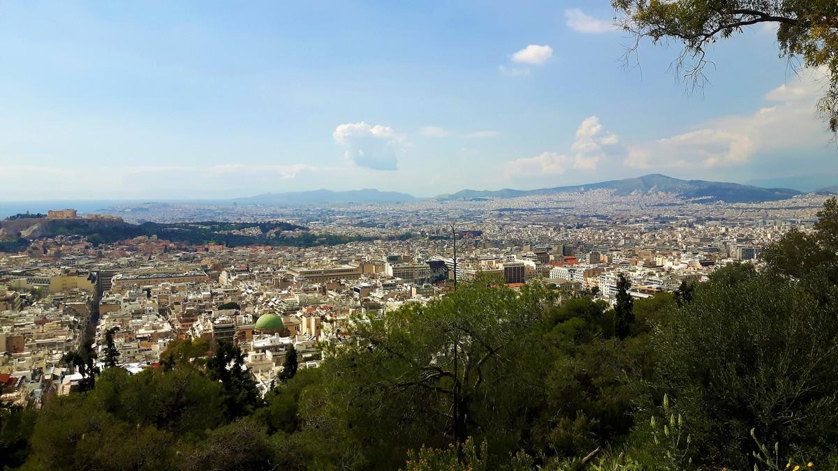 Η Αθήνα από το Λυκαβηττό 02