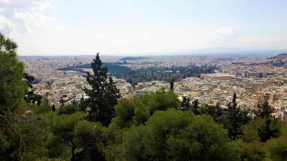 Η Αθήνα από το Λυκαβηττό 03