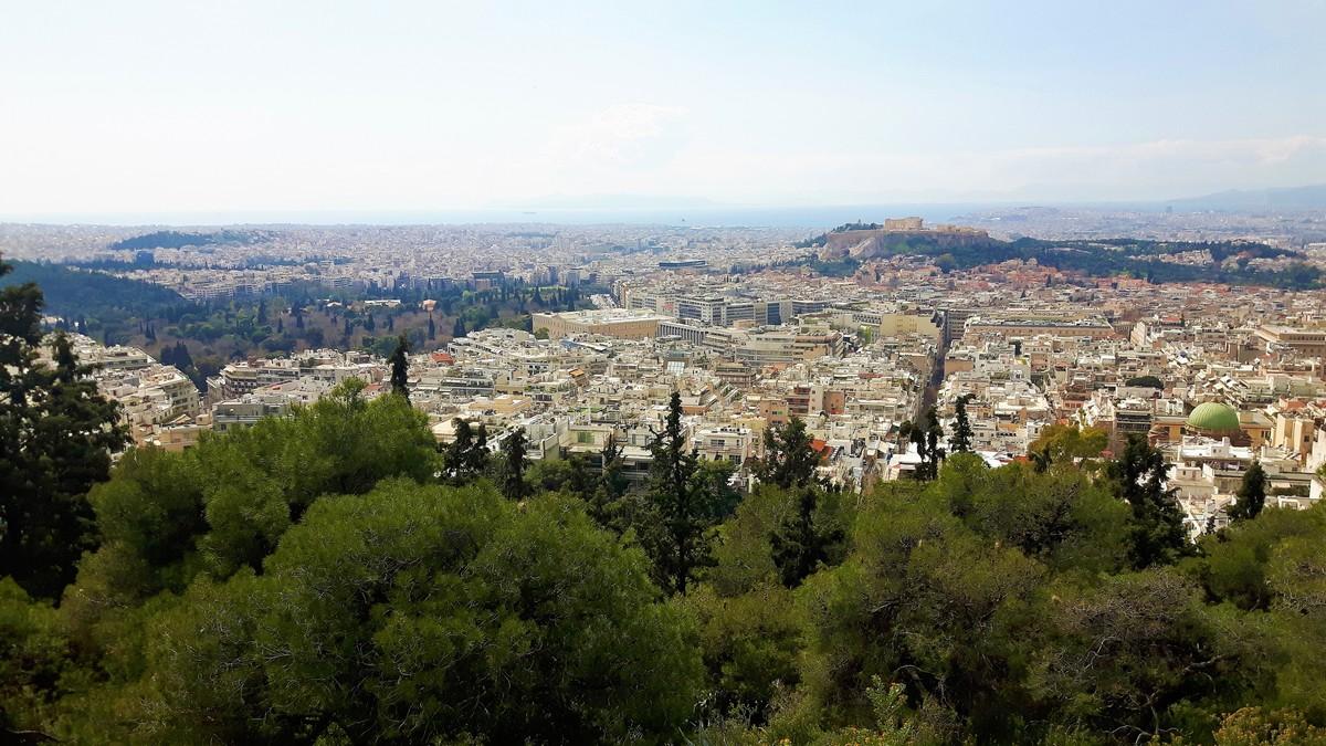 Η Αθήνα από το Λυκαβηττό 04