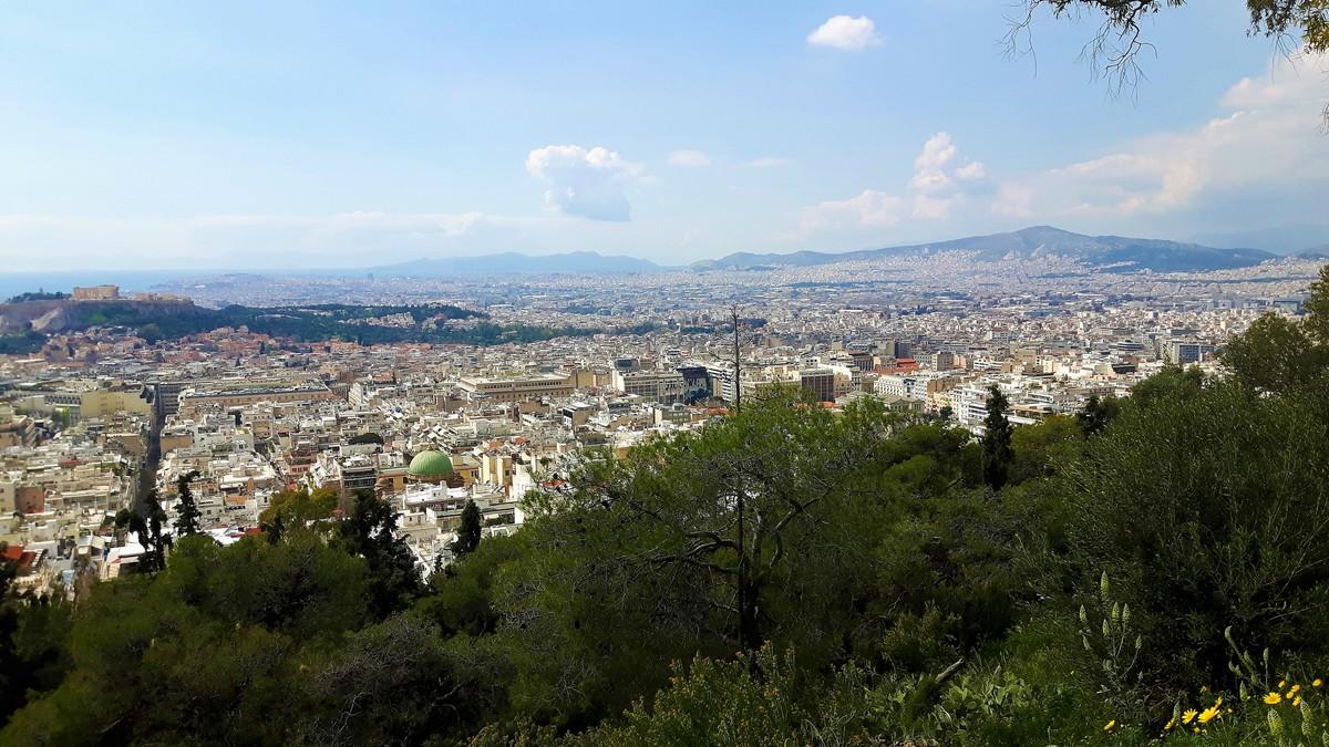 Η Αθήνα από το Λυκαβηττό 05