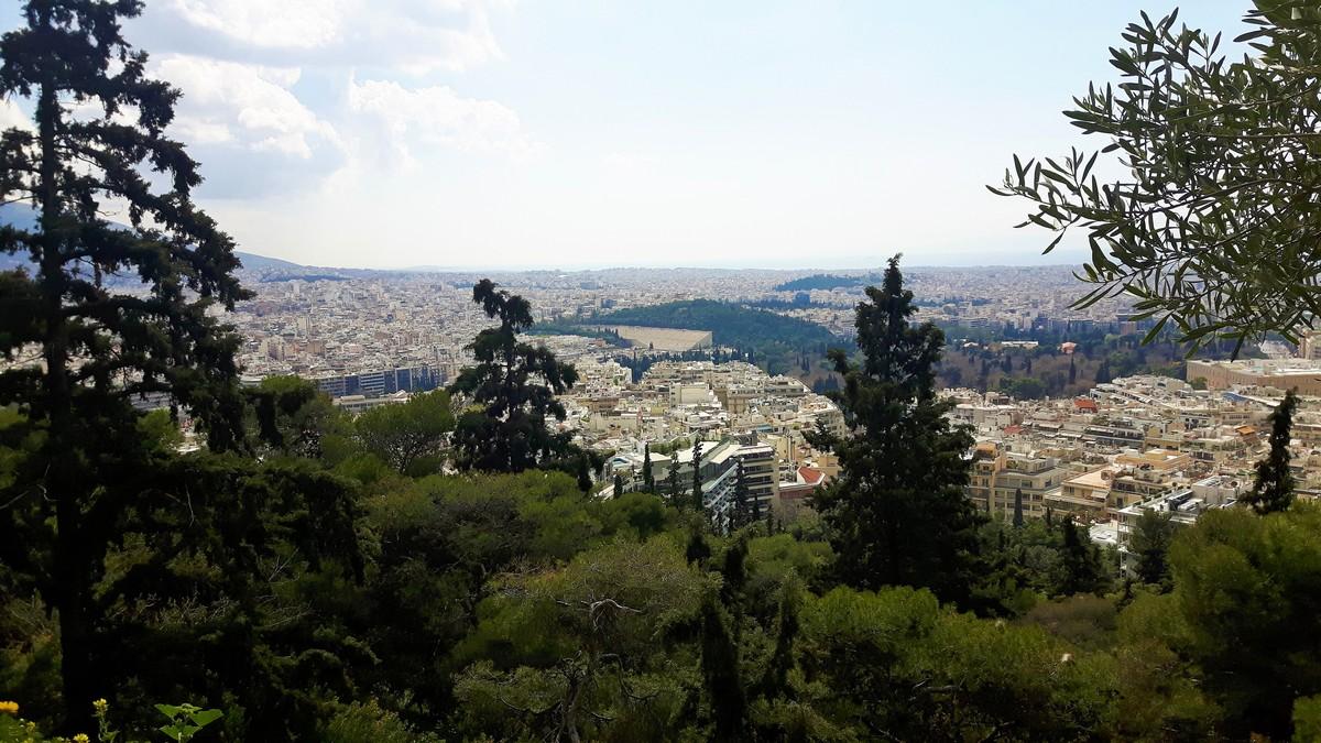 Η Αθήνα από το Λυκαβηττό 06