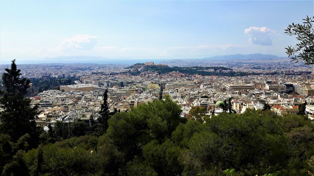 Η Αθήνα από το Λυκαβηττό 07