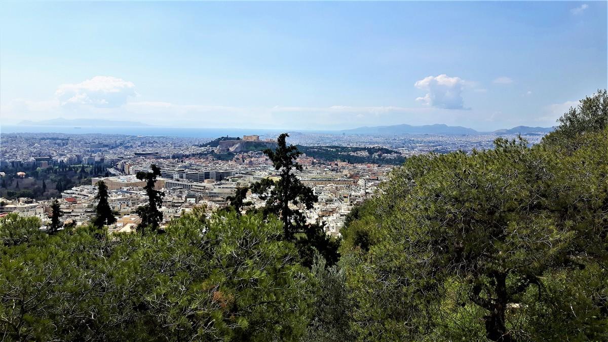 Η Αθήνα από το Λυκαβηττό 10
