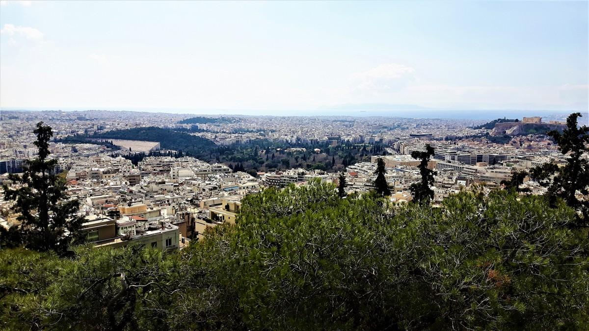 Η Αθήνα από το Λυκαβηττό 11