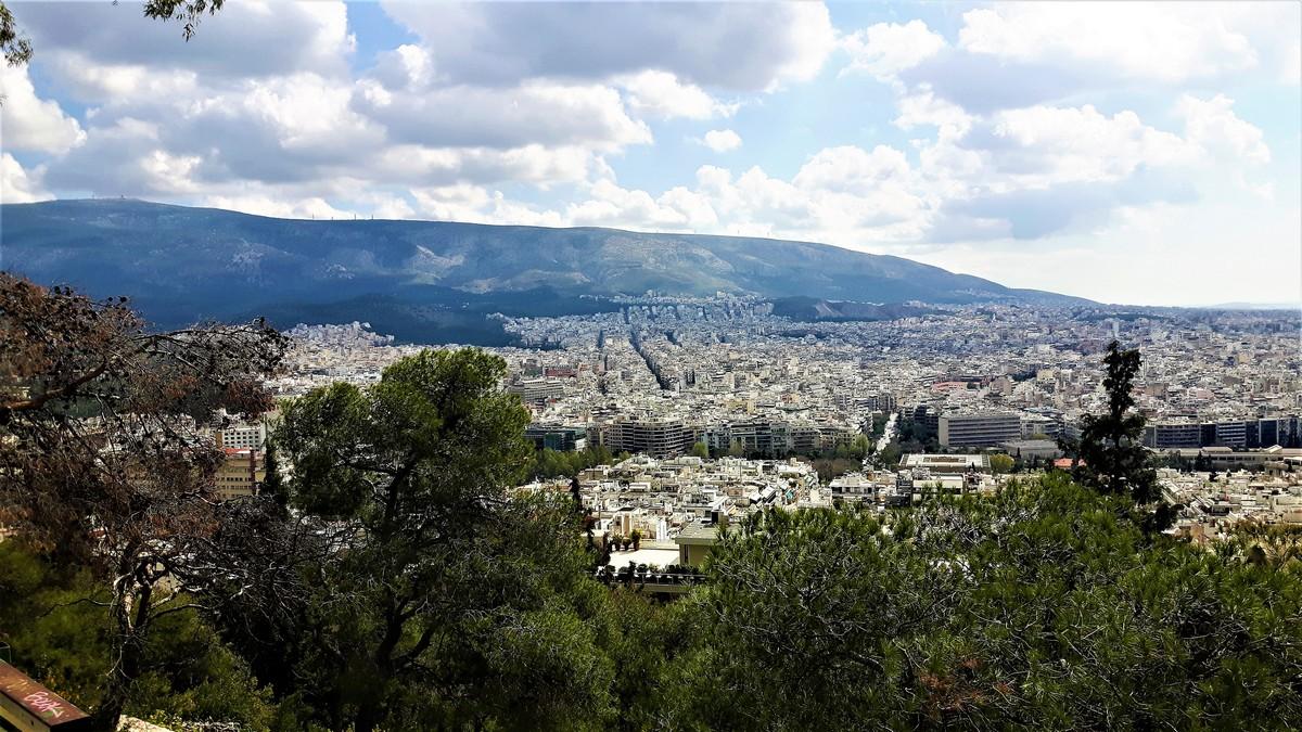 Η Αθήνα από το Λυκαβηττό 13