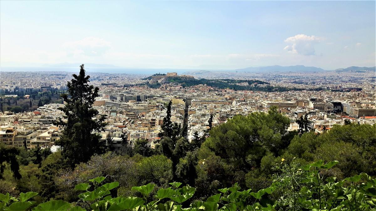 Η Αθήνα από το Λυκαβηττό 14