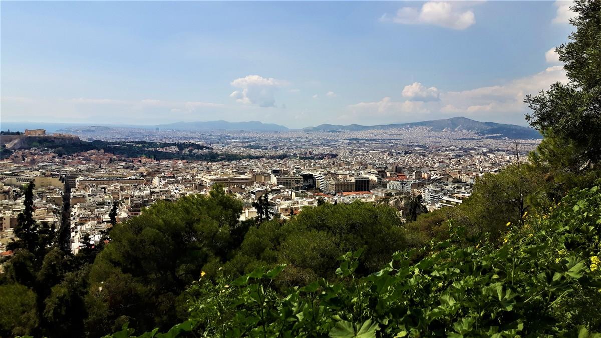Η Αθήνα από το Λυκαβηττό 15