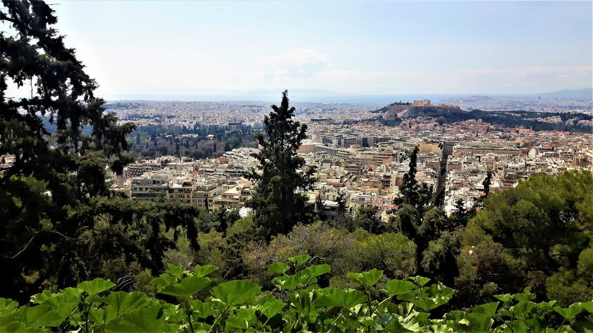 Η Αθήνα από το Λυκαβηττό 16