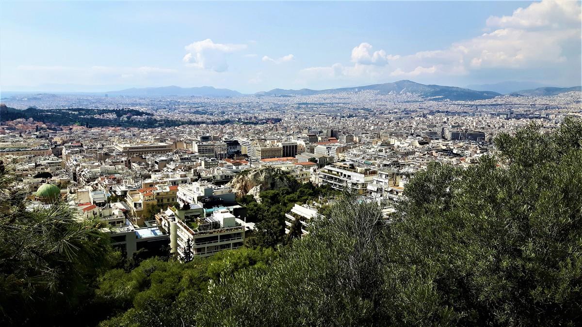 Η Αθήνα από το Λυκαβηττό 17