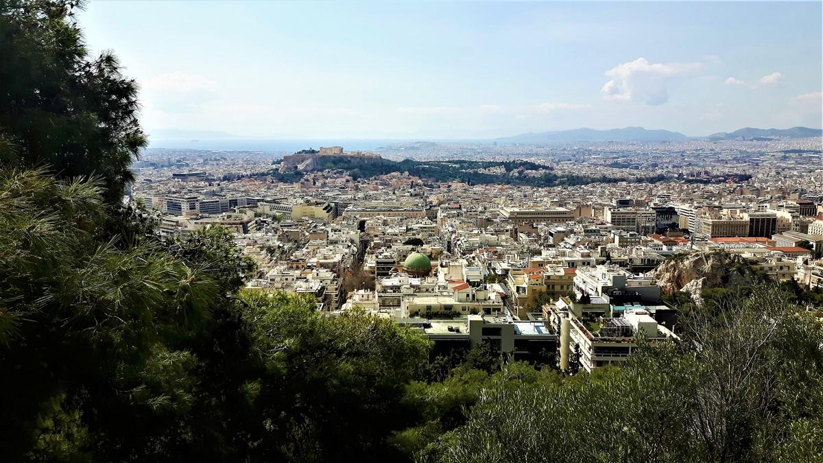 Η Αθήνα από το Λυκαβηττό 18