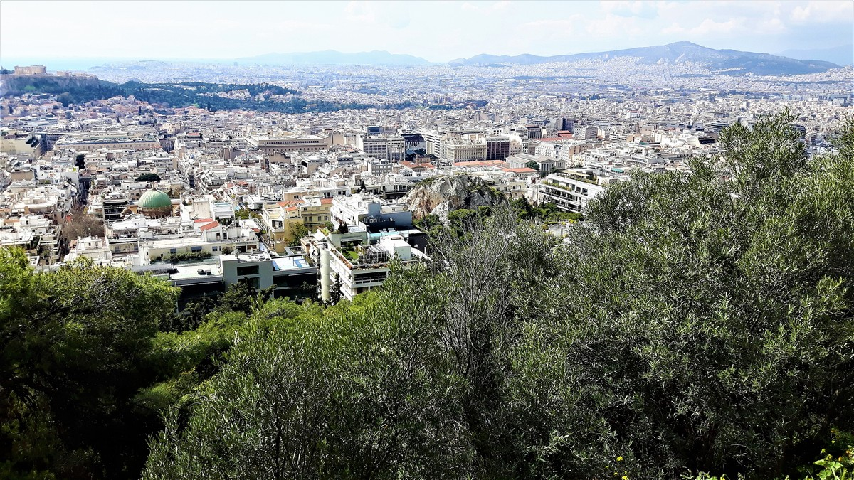 Η Αθήνα από το Λυκαβηττό 19