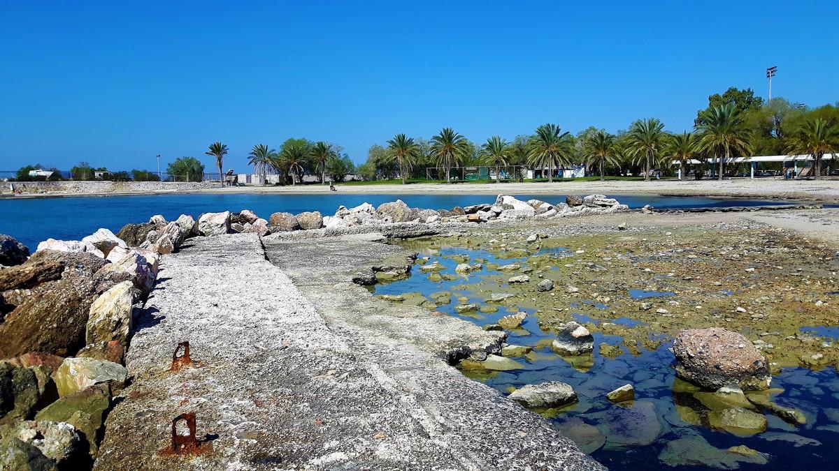 Παραλία Αγίου Κοσμά στο Ελληνικό 02