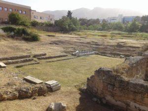 Άλιμος αρχαίο θέατρο Τραχώνων