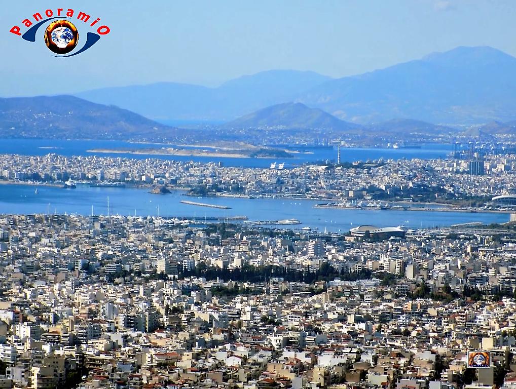 Εικόνες της Αθήνας από τον Υμηττό Καρέας