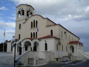 Καστέλλα - Ο ναός του Προφήτη Ηλία